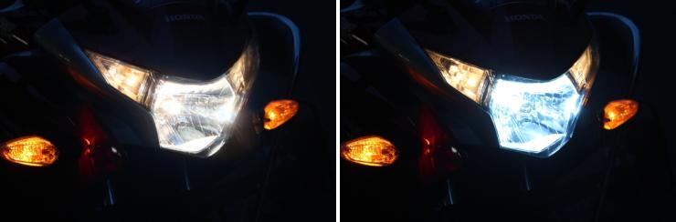 HIDの光は精鋭な顔つきへと変化させる!